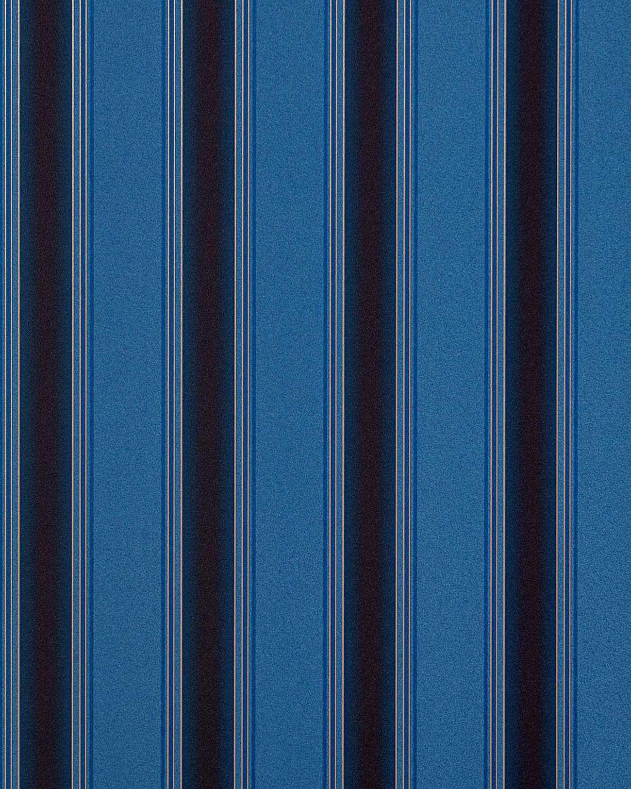 Empapelado con dise o moderno edem 827 24 de rayas en azul for Papel pintado azul y plata