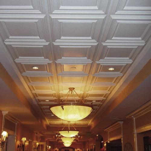 Placa decorativa 3d orac decor f30 luxxus panel de techo - Paneles decorativos para techos ...