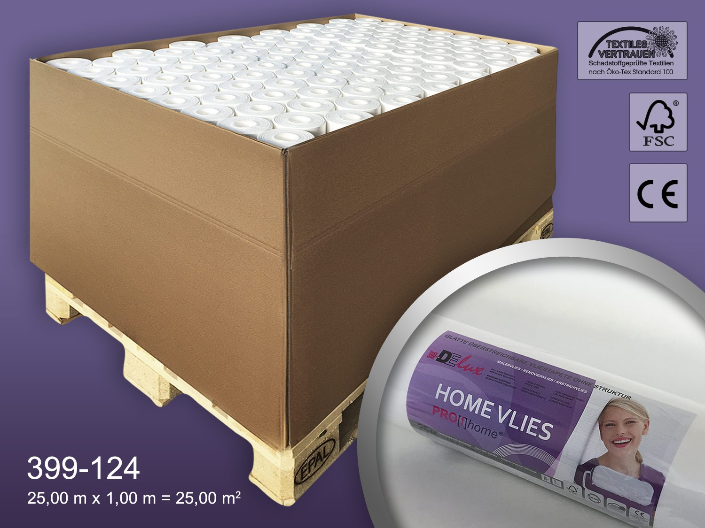 Revestimiento mural tejido no tejido liso 120 g profhome - Imprimacion para paredes ...