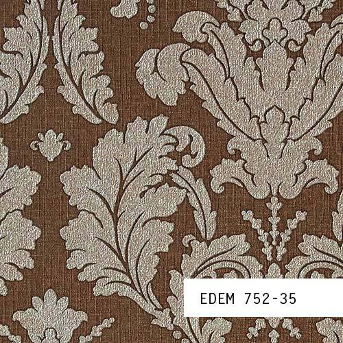 Muestra de papel pintado edem serie 752 patr n oriental for Papel pintado oriental