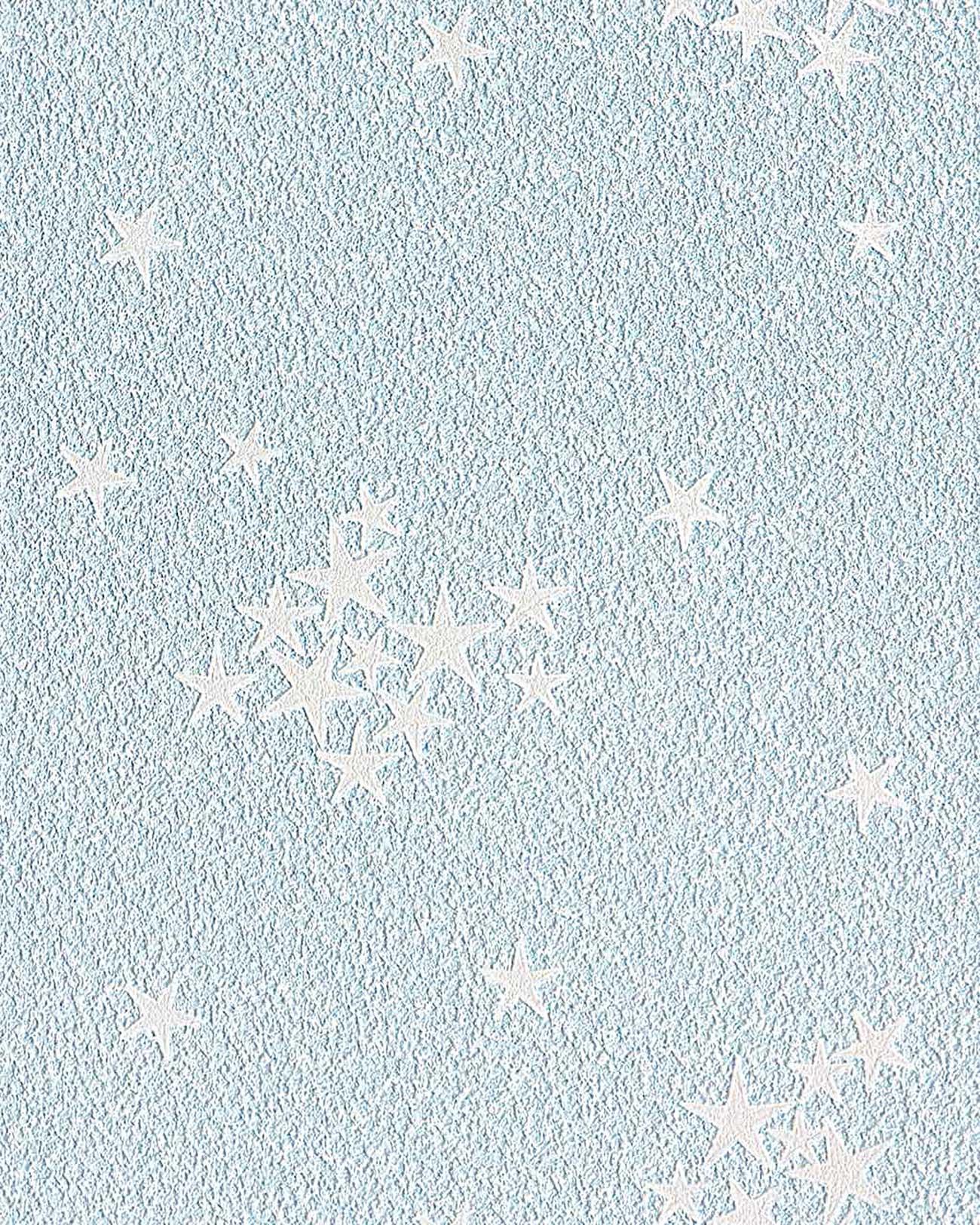 Papel mural infantil azul claro de ni os ni as y beb s - Papel pintado bebe nina ...