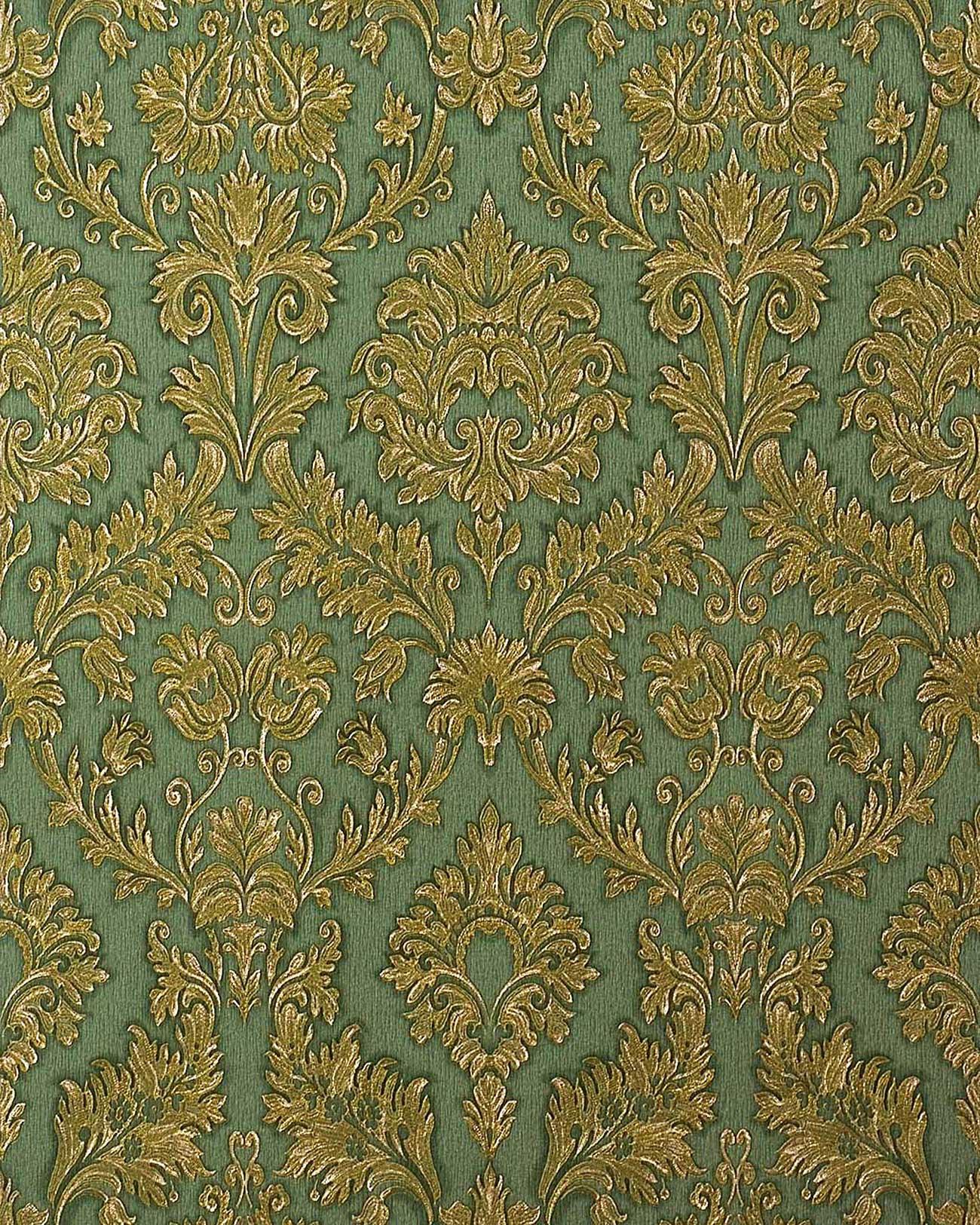 Papel pintado barroco damasco gofrado edem 708 38 de alta for Papel pintado barroco