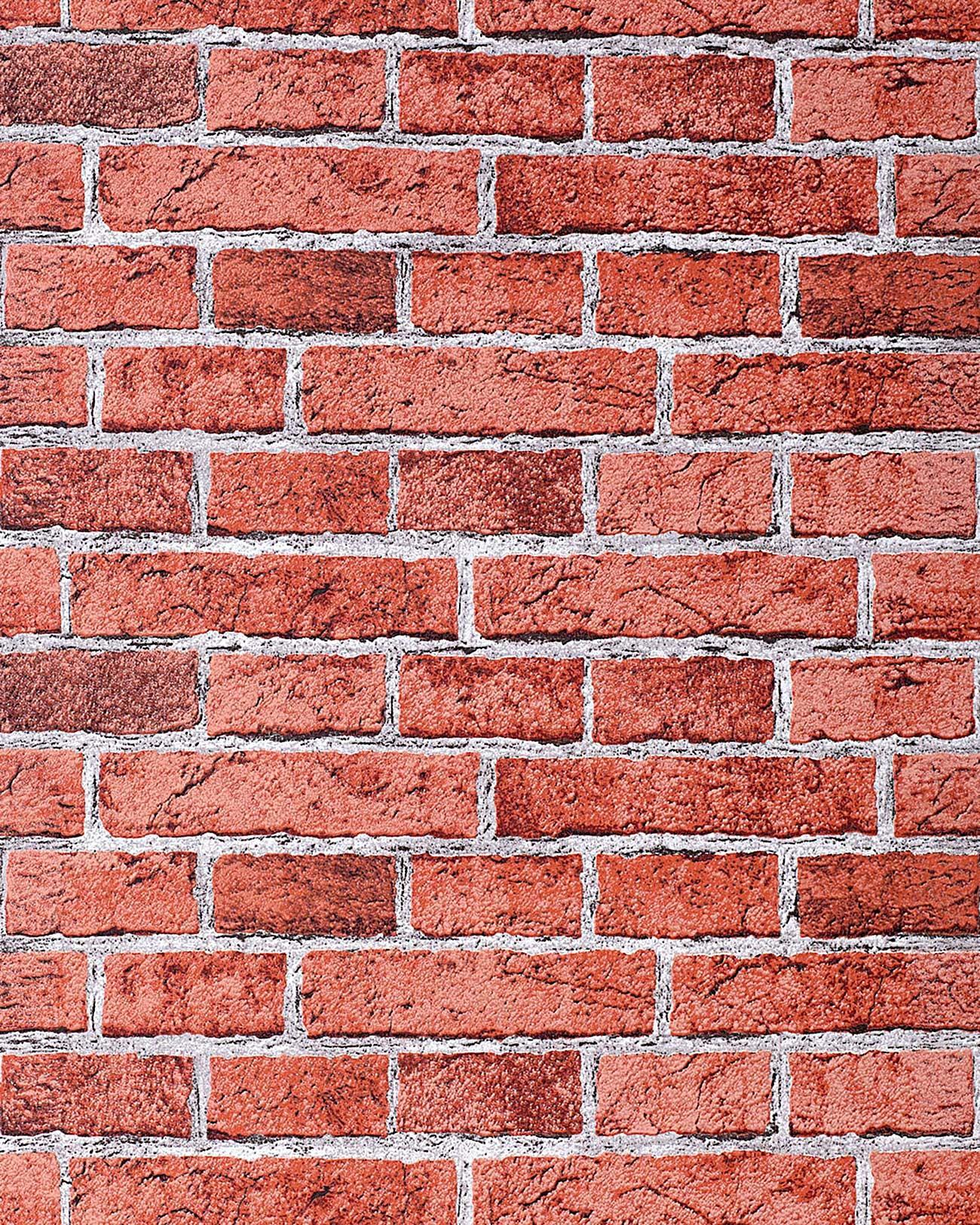 Papel mural con efecto muro de ladrillos edem 583 24 con - Papel pintado efecto piedra ...