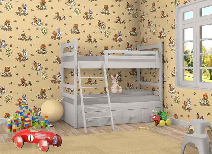 Papel pintado infantil para ni os ni as edem 007 21 y - Papel pintado bebe nina ...