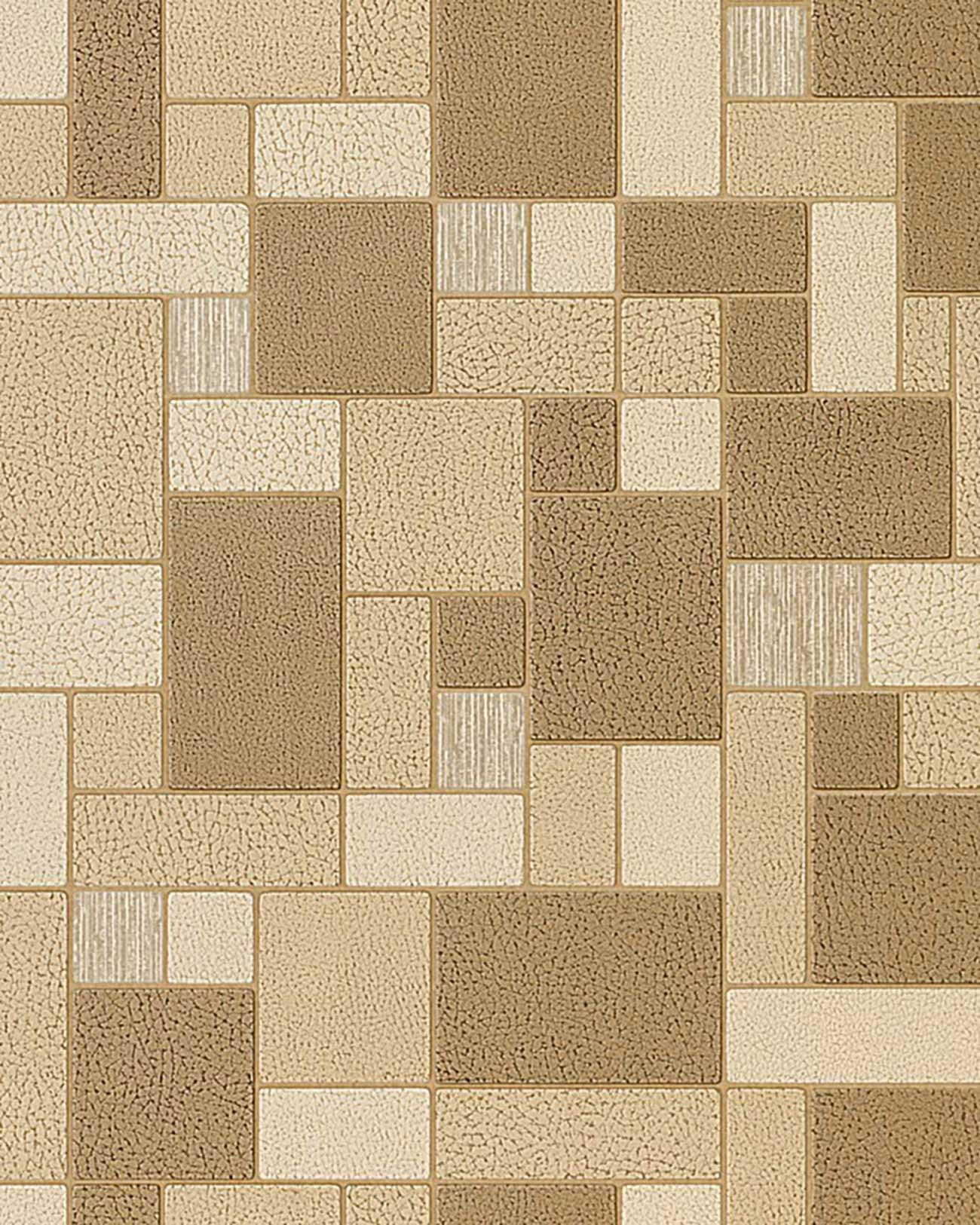 Baños Azulejos Beige:Brown Beige Mosaic Wall Tile