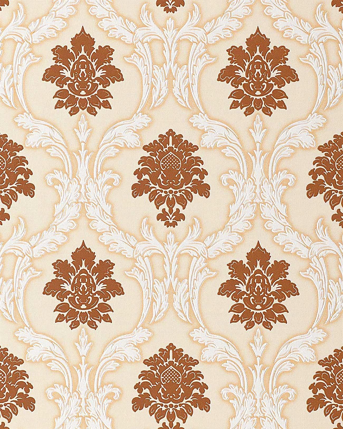 Papel pintado dise o barroco damasco edem 052 21 - Papel pintado barroco ...