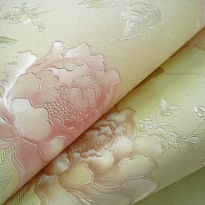 Papel pintado de flores edem 748 30 3d textura in relieve for Papel pintado con relieve