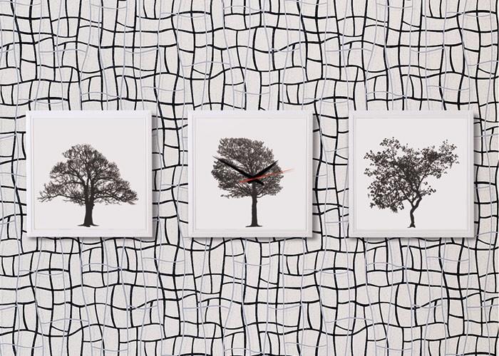 Papel pintado no tejido XXL dibujo abstracto rejilla 3D EDEM 972 ...