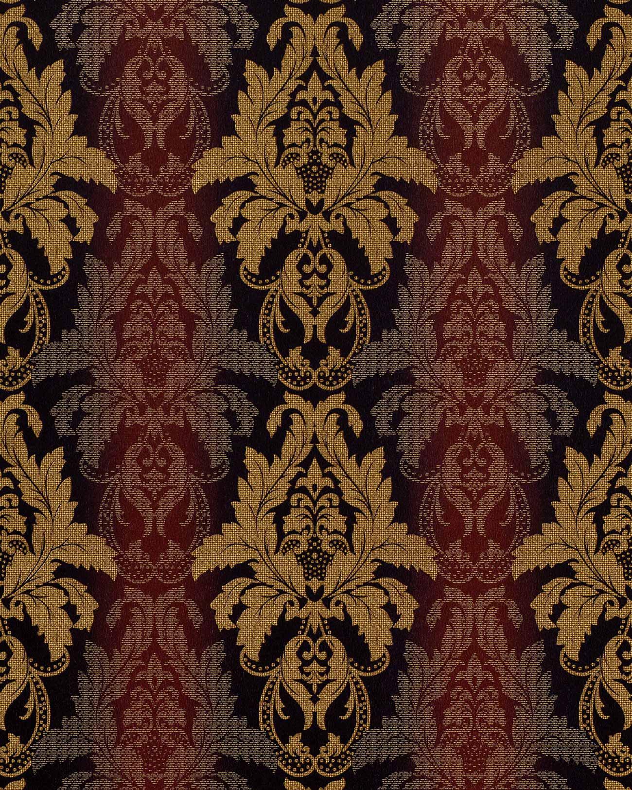 Papel pintado barroco damasco gofrado edem 770 36 de alta for Papel pintado barroco